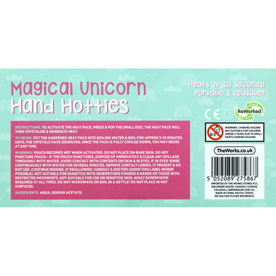 Magical Unicorn Hand Hotties - 2 Pack image number 3
