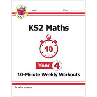 KS2 Maths 10-Minute Weekly Workouts: Year 4