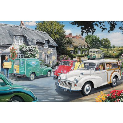 Vintage Cars 1000 Piece Jigsaw Puzzle image number 2