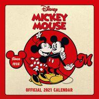 Disney Mickey Mouse Official Calendar 2021