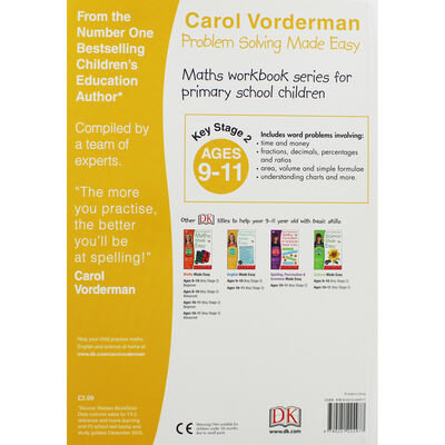Carol Vorderman: Problem Solving Made Easy: Age 9-11 image number 2