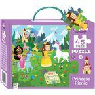 Princess Picnic 45 Piece Jigsaw Puzzle image number 1