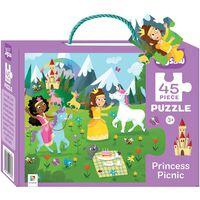 Princess Picnic 45 Piece Jigsaw Puzzle