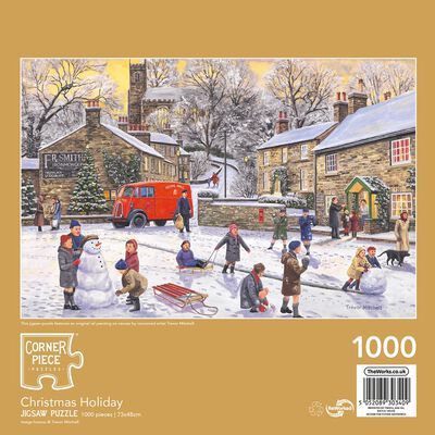 Christmas Holiday 1000 Piece Jigsaw Puzzle image number 3