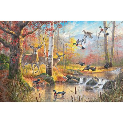 Wildlife Sanctuary 1000 Piece Jigsaw Puzzle image number 2
