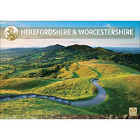 Hereford And Worcestershire 2020 A4 Wall Calendar