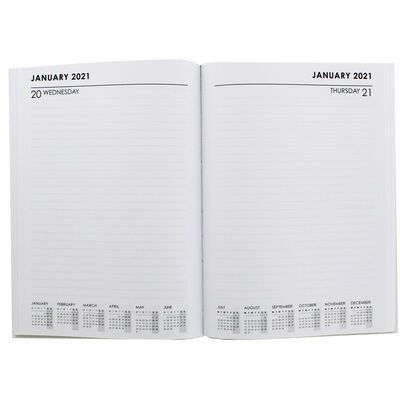 A5 Outside the Box Day a Page 2020-21 Academic Diary image number 2