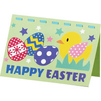 Make Your Own Foam Easter Card - Assorted