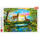 Lupine Nature 500 Piece Jigsaw Puzzle image number 2