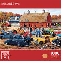 Barnyard Gems 1000 Piece Jigsaw Puzzle