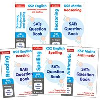 SATs Question Books KS2: 5 Book Collection