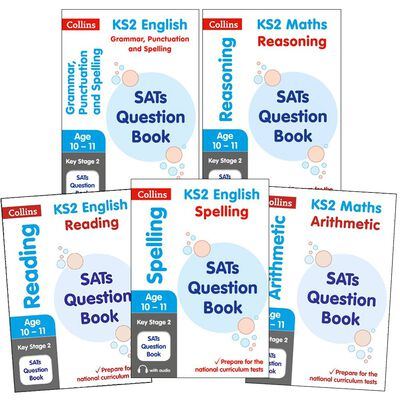 SATs Question Books KS2: 5 Book Collection image number 1