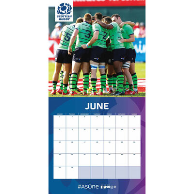 The Official Scottish Rugby Calendar 2020 image number 2