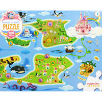 Things to Find Fairytale 100 Piece Jigsaw Puzzle