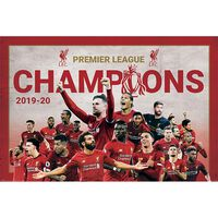 Liverpool FC Champions Montage Poster