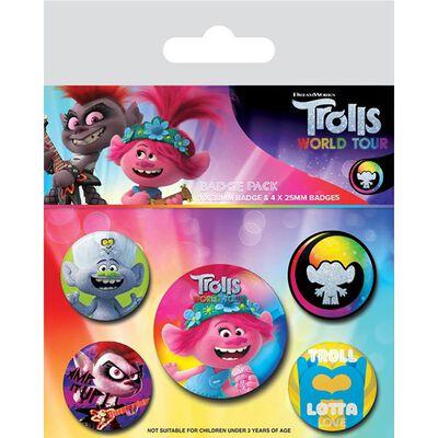 Trolls 2 Badge Pack image number 1