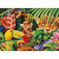 Jungle Animals 500 Piece Jigsaw Puzzle