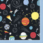 Outer Space Paper Napkins - 16 Pack image number 1