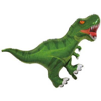 T Rex Dinosaur Super Shape Helium Balloon image number 1