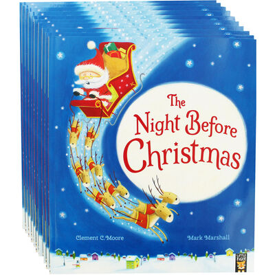 The Night Before Christmas: Pack of 10 Kids Picture Book Bundle image number 1