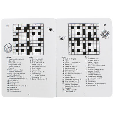 Bee-autiful Puzzles: Crosswords image number 2