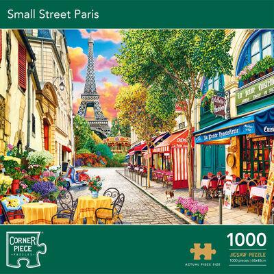 Small Street Paris 1000 Piece Jigsaw Puzzle image number 1