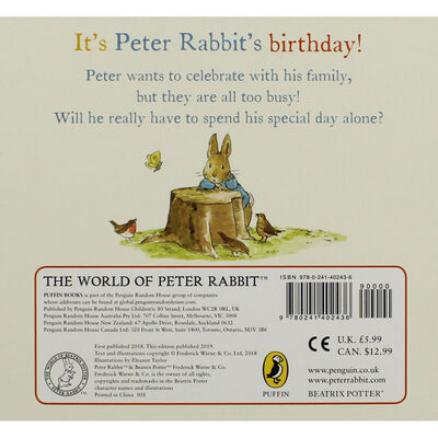 Happy Birthday: A Peter Rabbit Tale image number 3