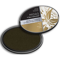 Midas by Spectrum Noir Metallic Pigment Inkpad - Gold