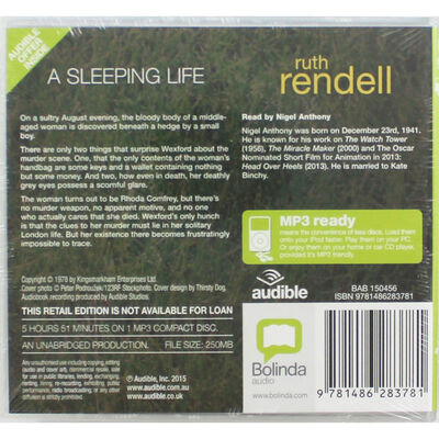 A Sleeping Life: MP3 CD image number 2
