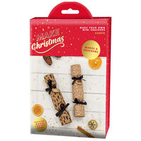 Make Your Own Mini Christmas Crackers: Rustic