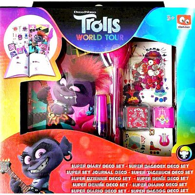 Trolls 2 Decorate Diary Set image number 1