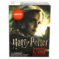 Harry Potter: Hermione's Wand with Sticker Kit