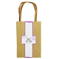 Dovecraft Essentials Kraft Gift Bags - 5 Pack