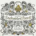 Enchanted Forest: Colouring Book image number 1