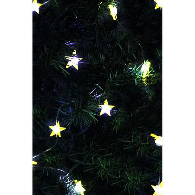 10 Bright White Gold Glitter LED Star Lights image number 3