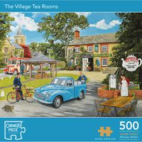 Village Tea Rooms 500 Piece Jigsaw Puzzle