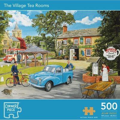 Village Tea Rooms 500 Piece Jigsaw Puzzle image number 1