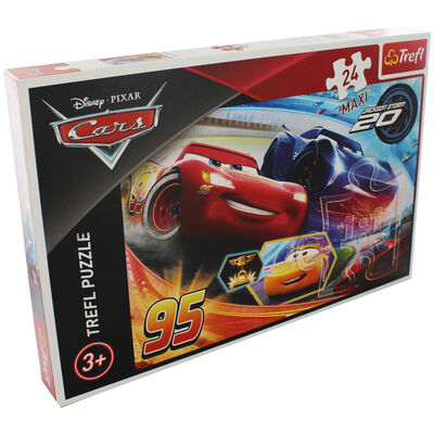 Disney Cars 24 Piece Maxi Jigsaw Puzzle image number 1