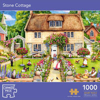 Stone Cottage 1000 Piece Jigsaw Puzzle