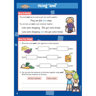 English Activity Book: Ages 5-6 image number 2