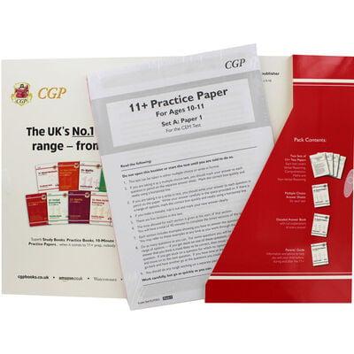 CGP 11+ Practice Papers: Verbal Reasoning Comprehension Maths and Non-Verbal Reasoning image number 2
