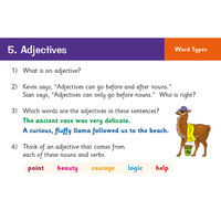 KS2 English SATS: Grammar, Punctuation & Spelling Revision Question Cards