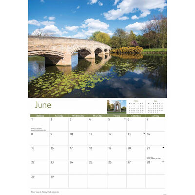 Leicestershire 2020 A4 Wall Calendar image number 2