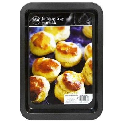 Non Stick Oblong Baking Tray Medium 33cm x 23cm image number 1