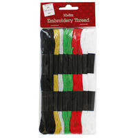 Embroidery Thread: Pack of 10