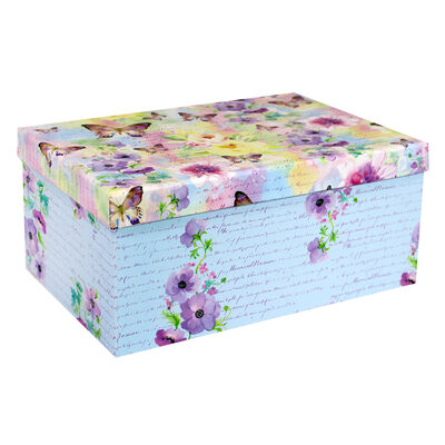 Les Papillons 10 Nested Gift Boxes Set image number 1