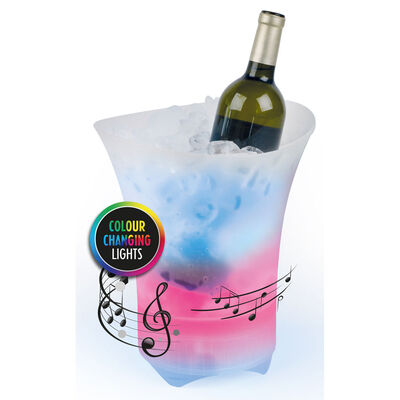 Party Ice Bucket with Bluetooth Speaker image number 2