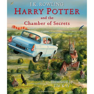 Harry Potter and the Chamber of Secrets: Illustrated Edition image number 1