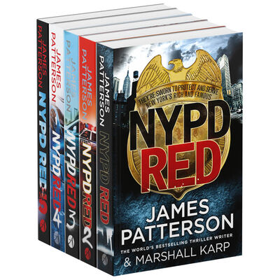 James Patterson NYPD: 5 Book Collection image number 1