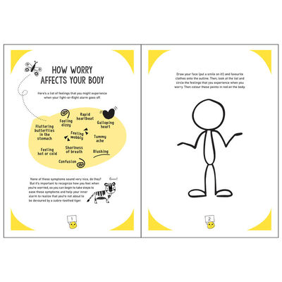The Worry Workbook: The Worry Warriors' Activity Book image number 2